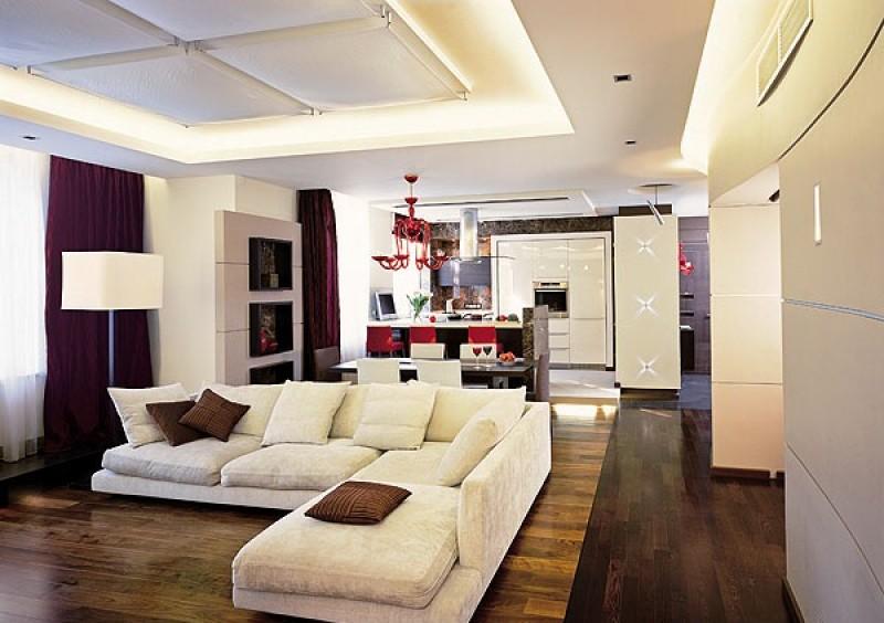 Кухня и гостинная дизайн фото